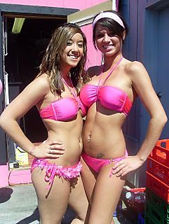 Fight the power: Keep bikini barista stands going.